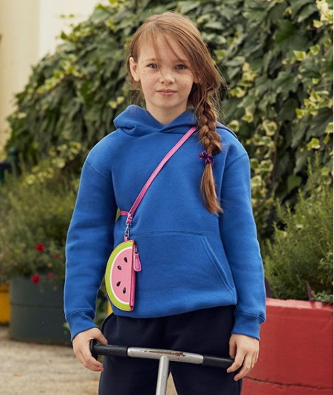Kids Premium Hooded Sweatshirt Fruit of the Loom