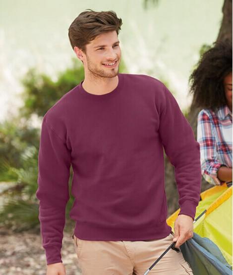 Classic Sweatshirt Premium Fruit of the Loom