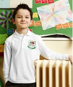 Children's Polo Shirt with Long Sleeves