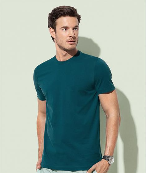 Organic Combed Cotton T-shirt James Stedman