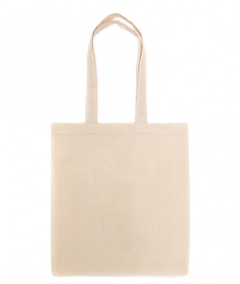 Shopping Bag Long Hand - Ecru
